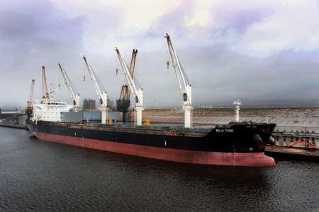 blu: MV Blu Tide - Bulk Carrier Editorial