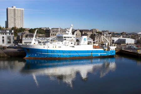 regent: MRV Scotia - Fishery Research Vessel - Aberdeen, Scotland Editorial