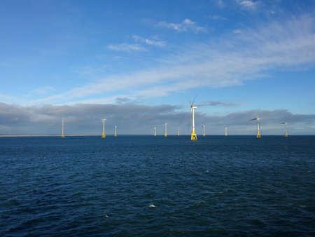 Wind farm in Aberdeen Bay