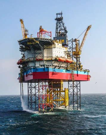 Maersk Highlander jackup drilling rig North Sea