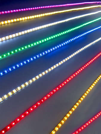 abstract rainbow power lighting, energy diversity photo