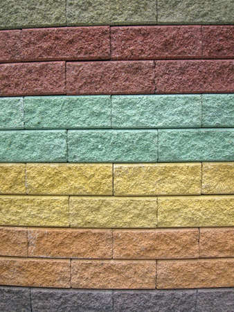 abstract color stone diversity background, colorful wall details Stock Photo - 10747465