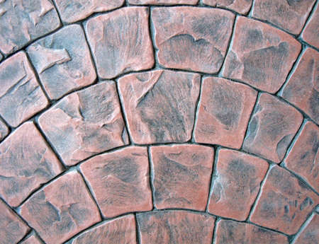 abstract red stone background texture, new technology details Stock Photo