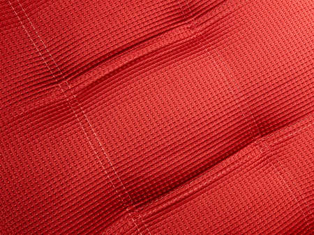abstract square red textile background closeup, new industry details Stock Photo - 10923446