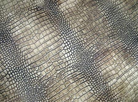wit krokodillenleer textuur, abstracte gevaar close-up
