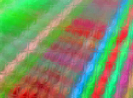 abstract rainbow glass diversity, modern interior details Stock Photo - 12370615