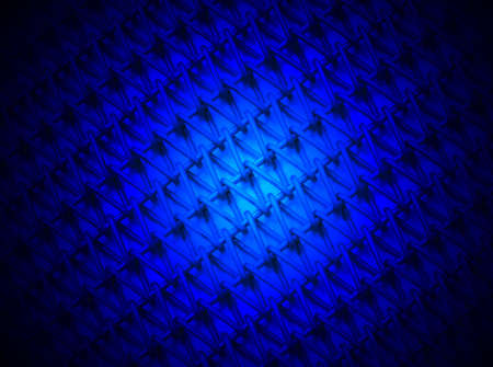 blue light over industrial metallic grid, magic lighting details Stock Photo - 12832398
