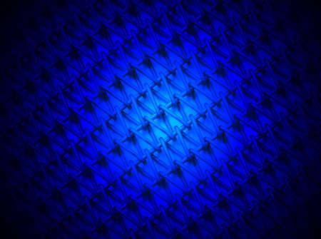 blue light over industrial metallic grid, magic lighting details Stock Photo - 12832398