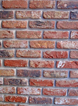 vintage red brick wall heap  new stone texture concept photo