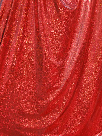 red theater curtain, modern theater details Stock Photo - 13591329