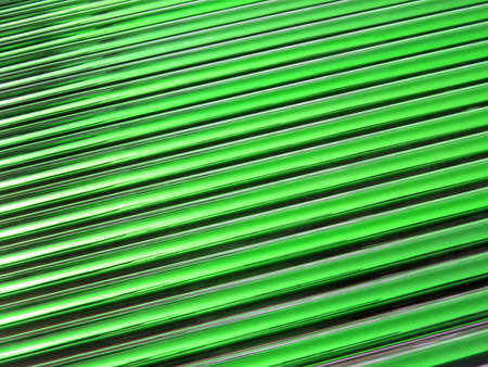 abstract green glass tube heap, new solar panel details photo
