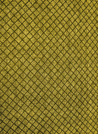 abstract yellow square elements carpet. new textile concept photo
