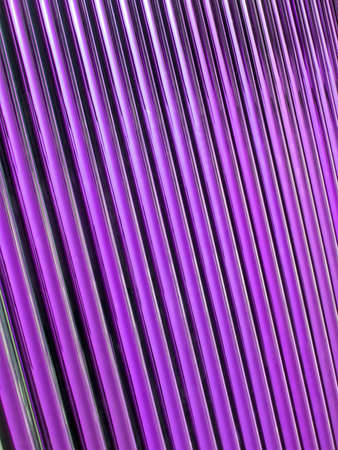 new solar panel details, abstract violet glass tube pile photo