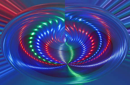abstract disco light rotation, discotheque diversity photo