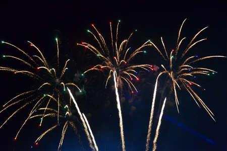 firework diversity, night carnival details photo