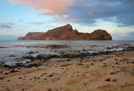 santo: porto santo beach Stock Photo