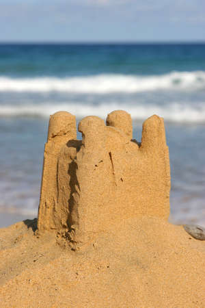sand castle by the sea Stock Photo - 2545080