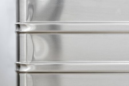 alloy: Alloy Material Background Corner Stock Photo