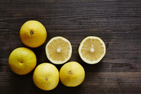 southsea: bunch of organic fruit sweety Stock Photo