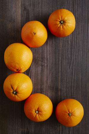 southsea: vitamin c oranges forming letter c