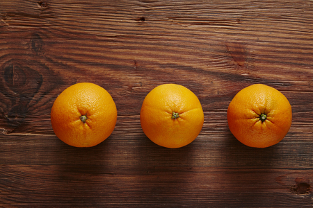 southsea: three organic oranges in a row of three