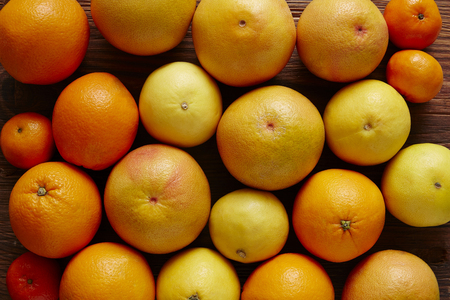 southsea: organic citrus fruits in a bunch