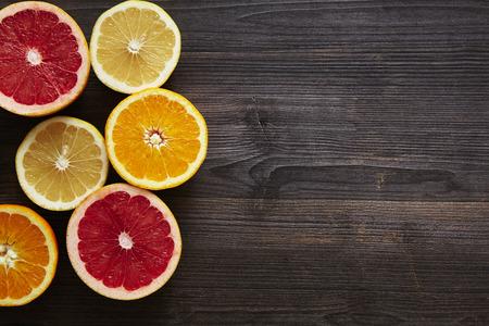 southsea: grapefruit orange and sweety halves on leftside