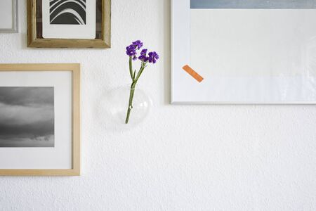 wall decoration vase and frames