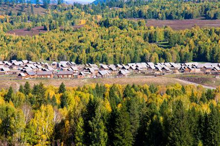 xinjiang: Xinjiang scenery Stock Photo