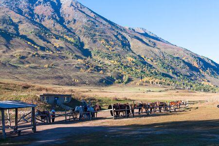 xinjiang: Xinjiang scenery �ditoriale