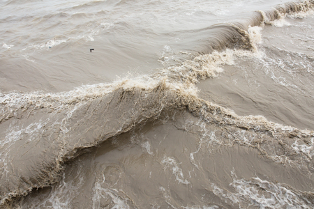 bore: Tidal bore Stock Photo