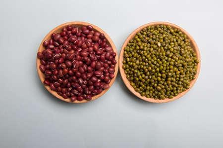 green bean: Red Bean and green bean
