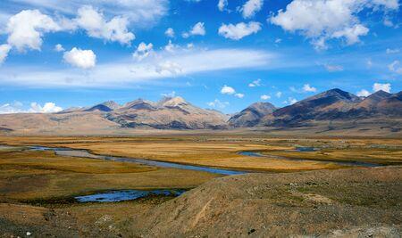 plateau: Sichuan-tibet plateau scenery Stock Photo