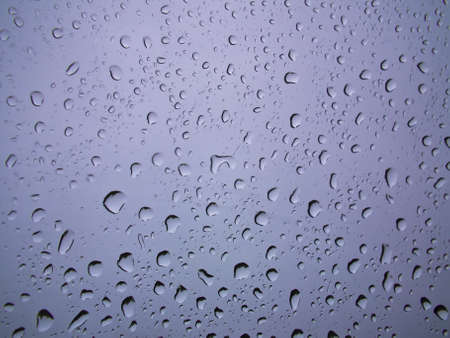 Rain drops on glass Stock Photo - 11905342