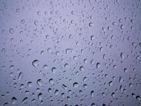 Rain drops on glass Stock Photo - 11905342