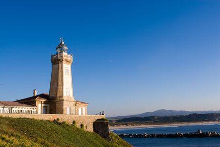 aviles: lighthouse of Aviles, Asturias, Spain