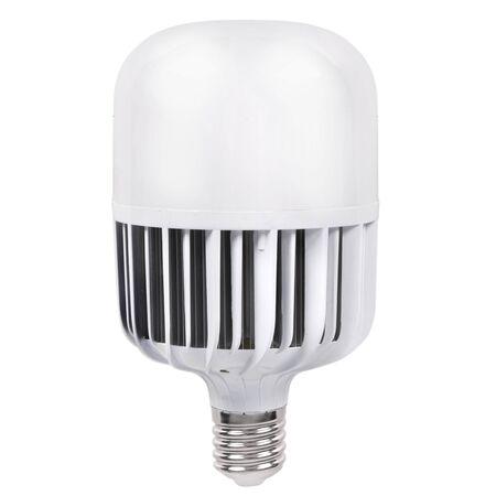 e27: Modern LED lamp isolated on white background