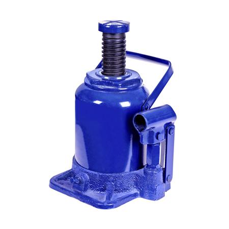 Big blue hydraulic Bottle Car Jac