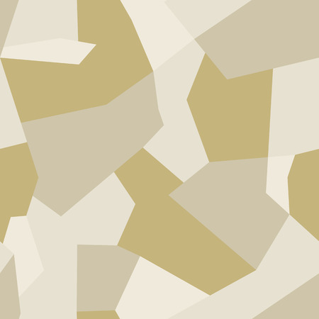 Modern seamless abstract vector sand military camouflage background. Pattern of Geometric Shapes for Army Clothing, military or sports vehicles or weapons