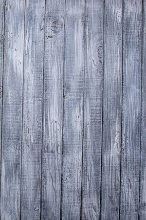 Old wooden fence painted of white paint for background 版權商用圖片