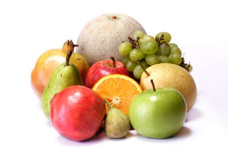 Verscheidenheid van groenten en fruit