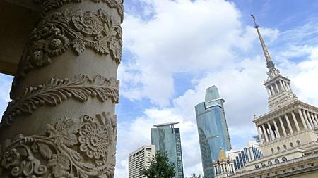 Building of Shanghai exhibition center