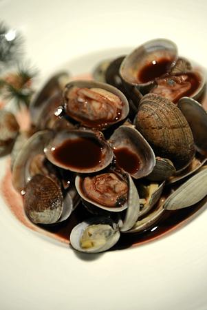 plato del buen comer: concha de almeja