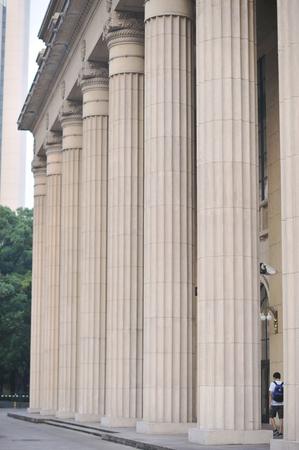 classicism: Rome pillars