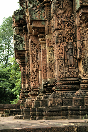 pillars: Pillars of Banteay Srei