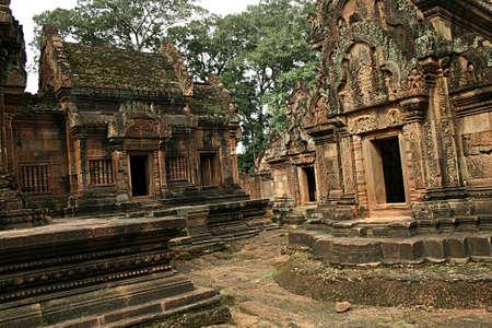 classicism: Ruins temple  Stock Photo