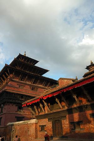 classicism: durbar temple Stock Photo