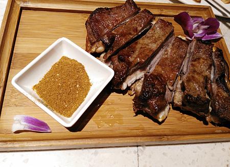 mutton chops: Cumin mutton chops Stock Photo