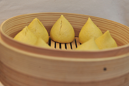 chinese corn bun photo