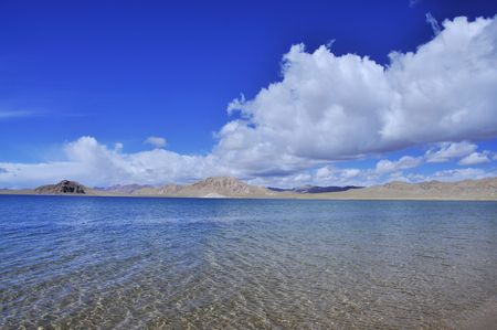 Scenic view of lake water